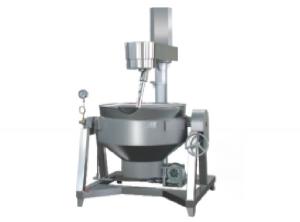 自动液压式行星搅拌炒锅蒸汽/燃气/电加热导热油/电磁加热