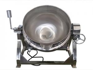 可倾斜电加热导热油夹层锅