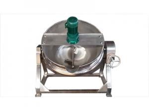 可倾蒸汽搅拌夹层锅